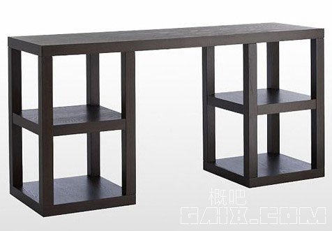 简约框架小书桌