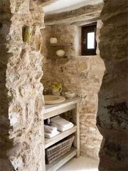 原石盥洗间